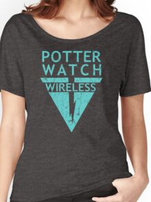 Potterwatch Wireless (Distressed Version) Women's Relaxed Fit T-Shirt