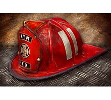 Fireman - A childhood dream Photographic Print
