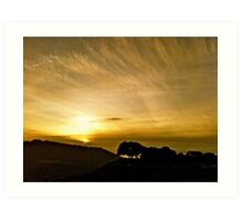 Carmel Sunset Art Print