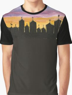 Spooky Carnival Graphic T-Shirt