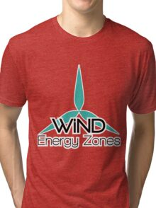 Wind Energy Zones Tri-blend T-Shirt