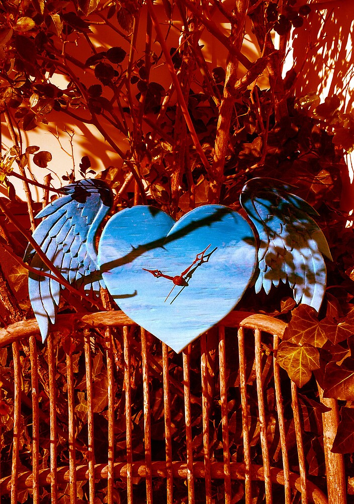 Blue Winged Heart by RelaxMode