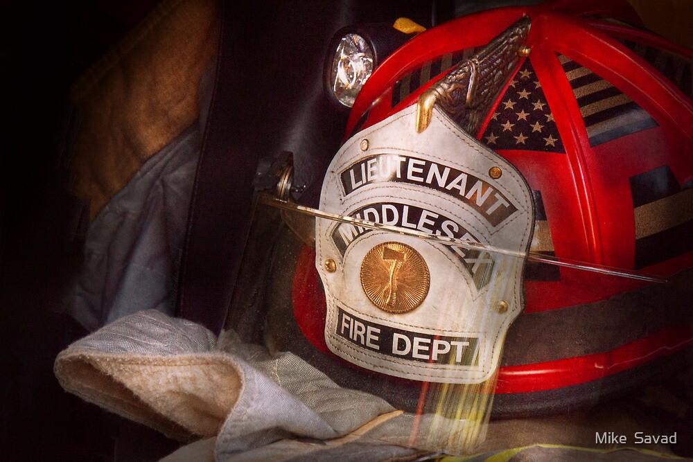 Fireman - The Lieutenants cap  by Mike  Savad