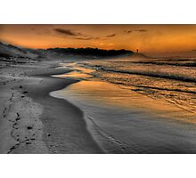 Dawn Gold Photographic Print