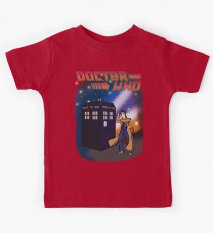 Back To The TARDIS Kids Tee