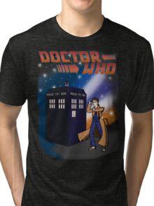 Back To The TARDIS Tri-blend T-Shirt