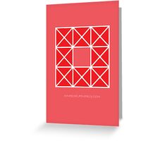 Design 51 Greeting Card