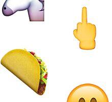 new emoji sticker pack by odinsxn