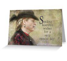 heartfelt wishes Greeting Card