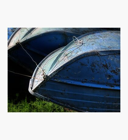 boat hull Photographic Print