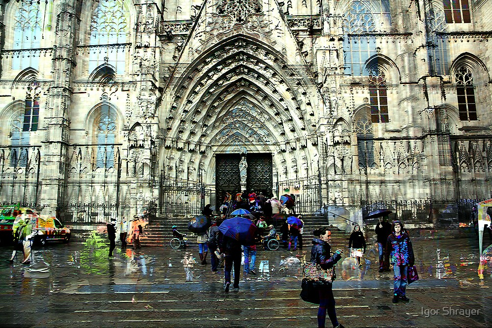Memories of Spain 8 - Barcelona Cathedral (La Seu) by Igor Shrayer