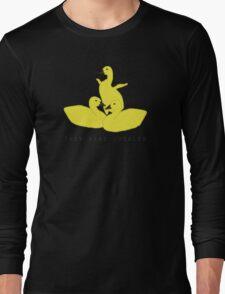 Baby geese - goslings! They were juggled! Long Sleeve T-Shirt