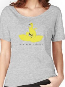 Baby geese - goslings! They were juggled! Women's Relaxed Fit T-Shirt