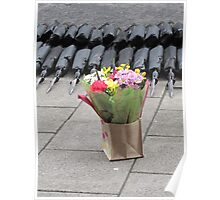 Flowers and Rifles. Poster