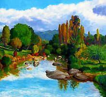 The McDonald River II by Cary McAulay