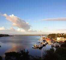 Beautiful Tasmania - Strahan, just after dawn by georgieboy98