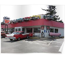 Our Ride At The Right Place.....Florence, Oregon...Hwy. 101 Poster