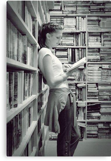 The Sweet Serenity Of Books... by Carol Knudsen