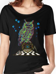 ATOMIC OWL Women's Relaxed Fit T-Shirt