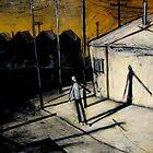 boy and shadow by glennbrady