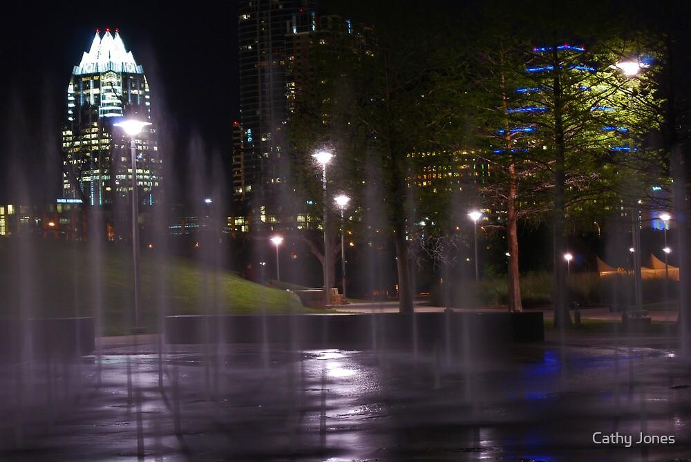Austin at Night by Cathy Jones