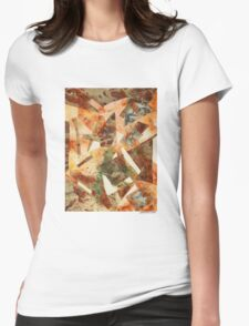Rusty Pieces Womens Fitted T-Shirt