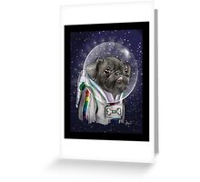 Cadet Sparkles Greeting Card