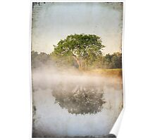 Early Morning Reflections Poster