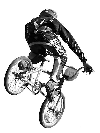 Biking Big Air  by Corri Gryting Gutzman