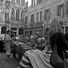Sunday morning market, Venice by Maggie Hegarty