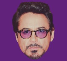Robert Downey Jr. Face Time by Emily Draper