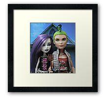 American Goth Framed Print