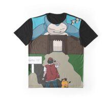Shingeki No Snorlax  Graphic T-Shirt