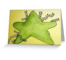 Country Star Greeting Card