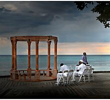 Waiting in Jamaica by Mark Ross