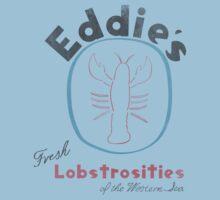 Eddie's Fresh Lobstrosities of the Western Sea Kids Tee