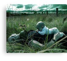 Silent Breath Canvas Print