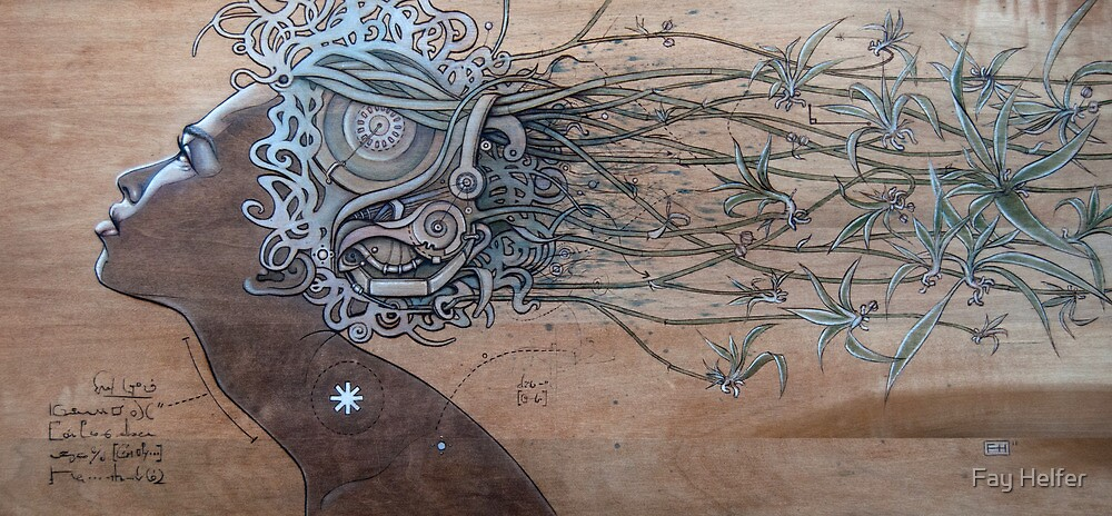 Hair Plant by Fay Helfer