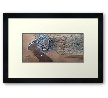 Hair Plant Framed Print