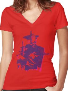 The Wood Women's Fitted V-Neck T-Shirt