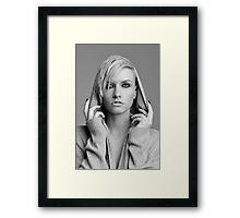 hooded beauty  Framed Print
