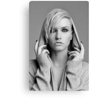 hooded beauty  Canvas Print