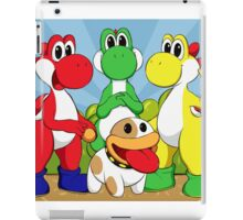 Yoshi Trio iPad Case/Skin