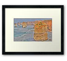 12 APOSTLES, GREAT OCEAN ROAD VICTORIA Framed Print