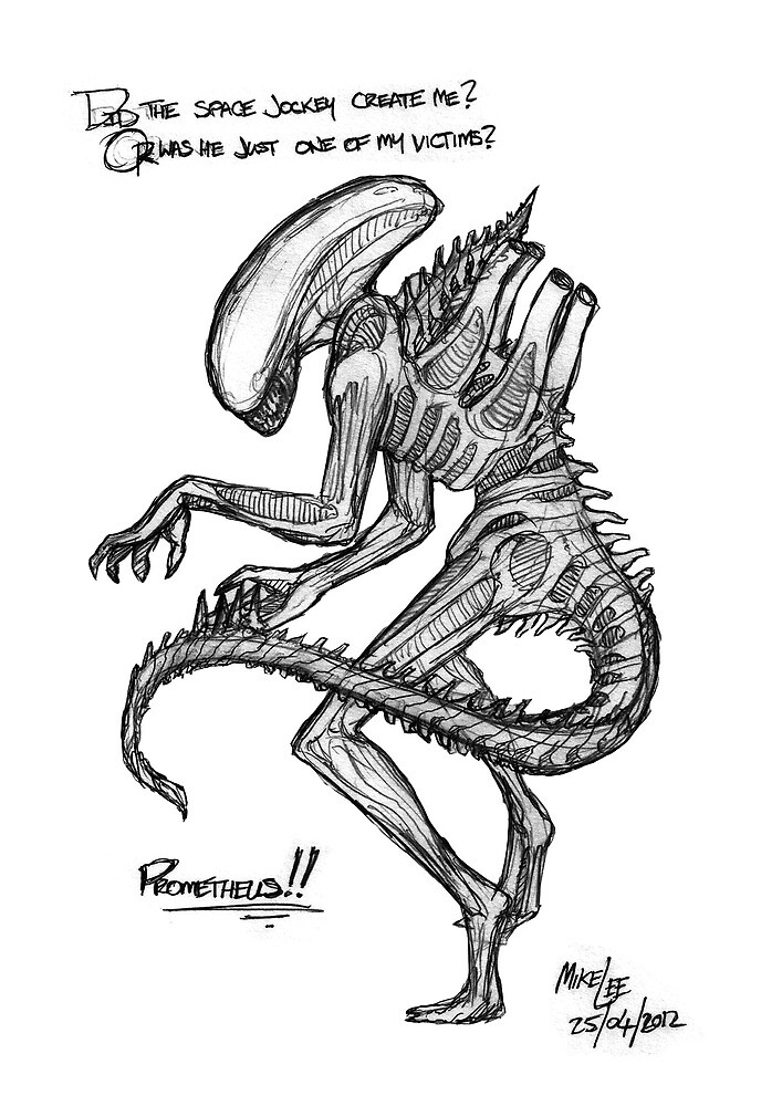 Alien - Prometheus Hype by Michael Lee