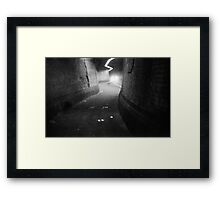 under ground Framed Print
