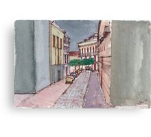 A Street in Seville Canvas Print
