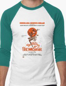 BUBBLING BROWN SUGAR (vintage illustration) Men's Baseball ¾ T-Shirt