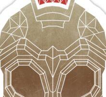 Geometric Trojan Helmet Sticker