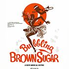 BUBBLING BROWN SUGAR (vintage illustration) by ART INSPIRED BY MUSIC